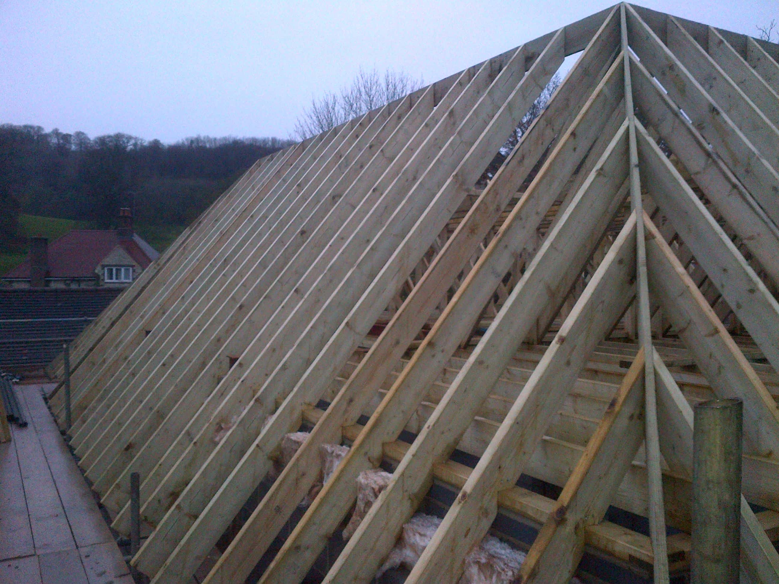 Roofing Work Pure Construction